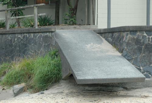 diving board wheelchair ramp