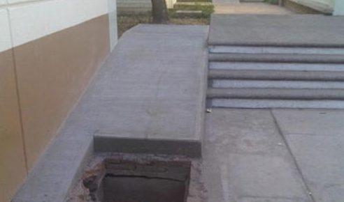 wheelchair accessibility ramp fail
