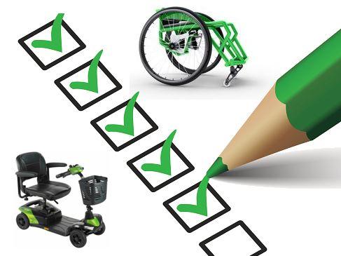Wheelchair checklist