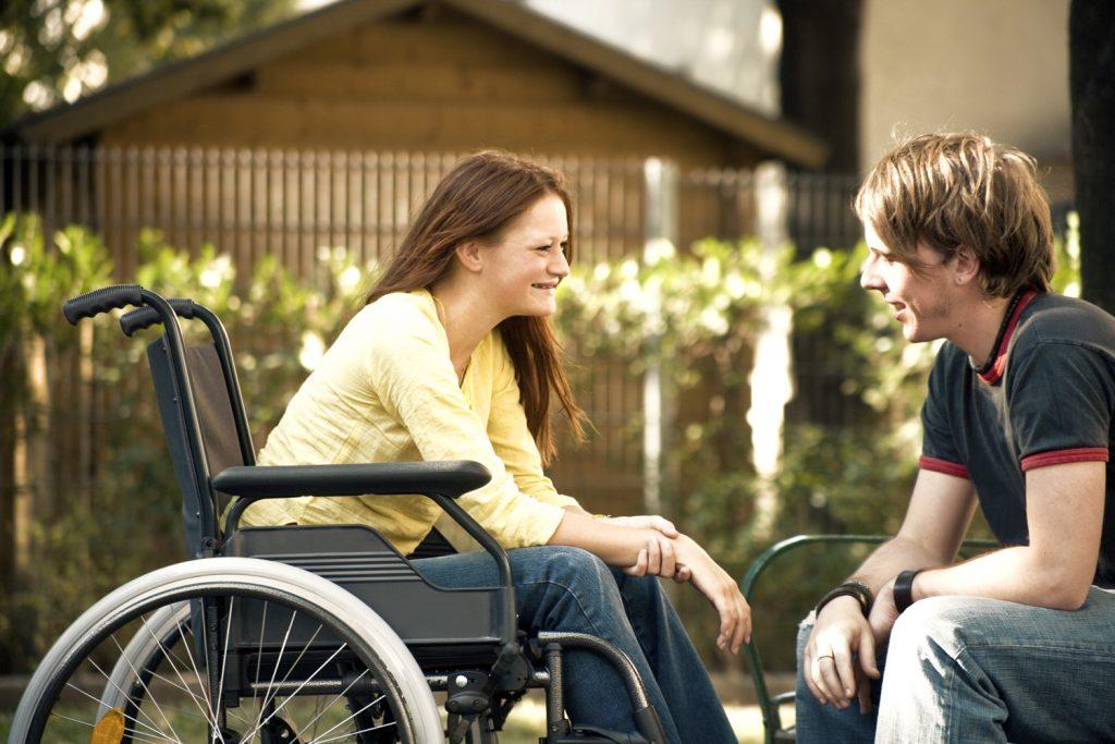 wheelchair etiquette - manual wheelchair
