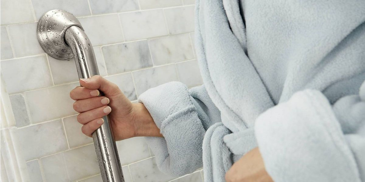 Installing Grab Bars For Shower Safety, Which Way To Install Bathroom Grab Bars