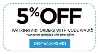 5% off walking aids