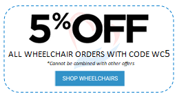 5% off wheelchairs