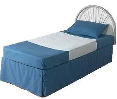 bed pads with wings tucked under bed mattress